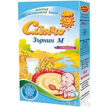 Слънчо Млечна каша Зърнин М 11 витамина 200 г 200 г
